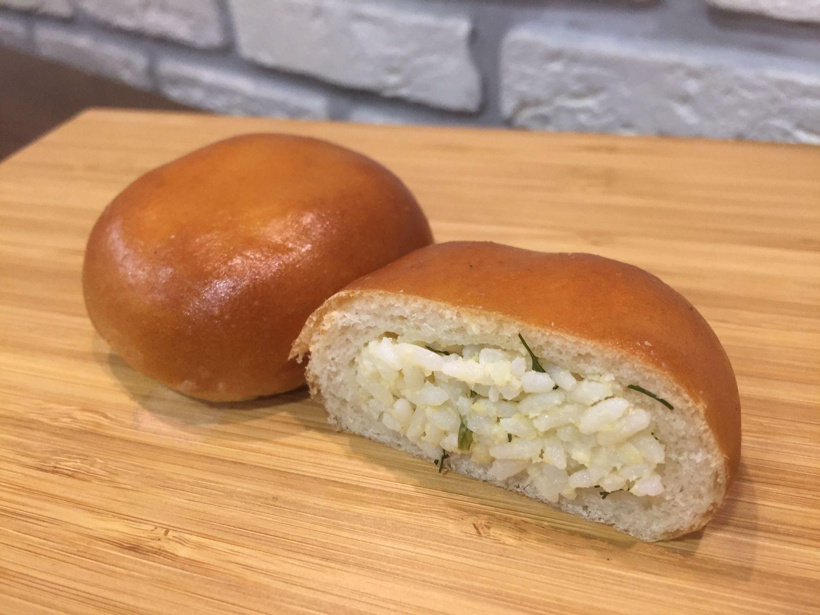 Пирожки с рисом, луком и яйцом - кулинарный рецепт 53